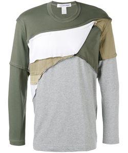 Comme Des Garcons | Comme Des Garçons Shirt Patchwork T-Shirt Size Small