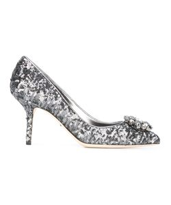 Dolce & Gabbana | Bellucci Embellished Pumps 37.5 Lamb