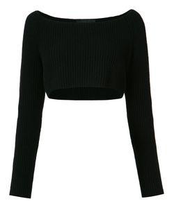 BAJA EAST | Long Sleeve Cropped Rib Knit Sweater Size