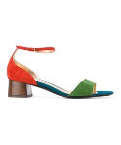 Michel Vivien | Tri-Colour Open Toe Sandals Size 36