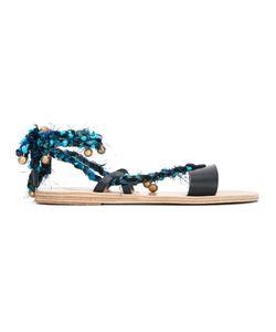 ANCIENT GREEK SANDALS | Lachesis Sandals Size 38