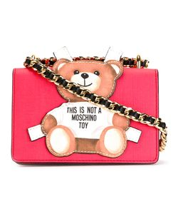 Moschino   Paper Toy Bear Shoulder Bag Leather
