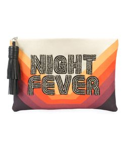 Sarah's Bag | Night Fever Embroidered Clutch Women