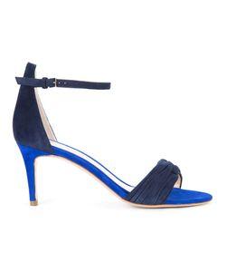 Monique Lhuillier | Mara Sandals 38.5 Suede/Leather