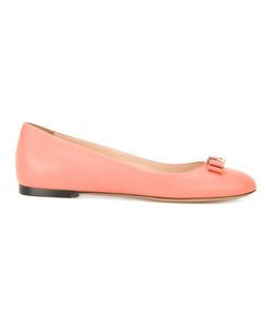 Bally | Bow Front Ballerina Shoes 39