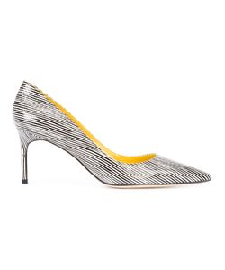 Manolo Blahnik | Lisa Striped Pumps Size 39.5