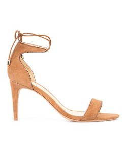 Alexandre Birman | Strappy Sandals 36 Python Skin/Suede/Leather