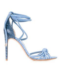 Alexandre Birman | Layla Sandals 39 Leather/Suede