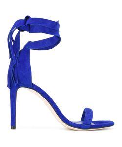 Stuart Weitzman | Tie Around Sandals 38.5 Leather/Suede