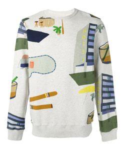 Bellerose | Hotel Print Sweatshirt S