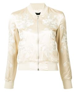 3X1   Embroidery Bomber Jacket Small Polyester/Cotton/Rayon