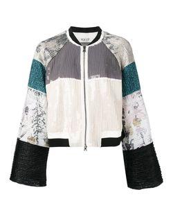 Aviù | Textured Panel Boxy Jacket Size 42