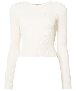 Derek Lam   Ribbed Longsleeved T-Shirt Size 46