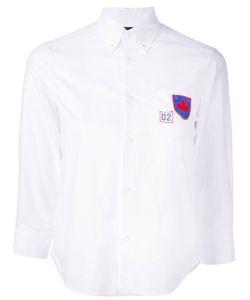 Dsquared2 | Рубашка С Заплаткой С Логотипом