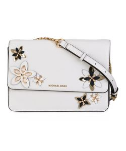 Michael Michael Kors | Flowers Detail Cross Body Bag Leather/Metal