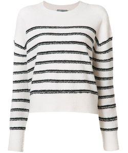 Vince | Striped Jumper Medium Wool/Polyamide