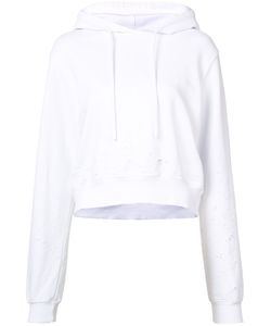 Cotton Citizen | Distressed Cropped Hoodie