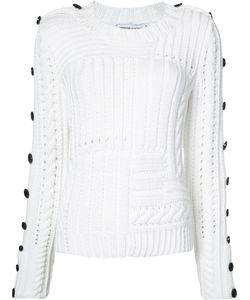SPENCER VLADIMIR | Buttoned Sleeve Jumper Size Medium/Large