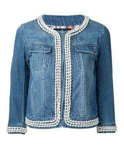 GUILD PRIME | Cropped Denim Jacket 34 Cotton