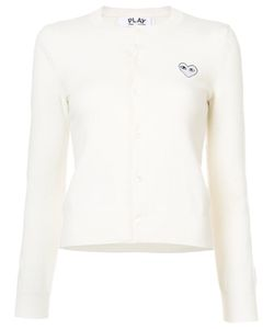 Comme des Gar ons Play | Heart Embellished Cardigan Women