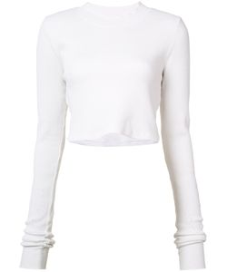 Cotton Citizen | Long Sleeved Cropped T-Shirt