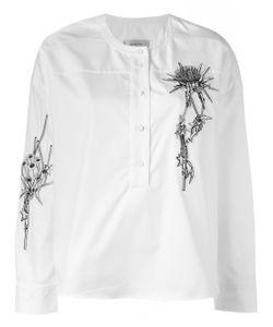 Carven | Рубашка С Вышивкой