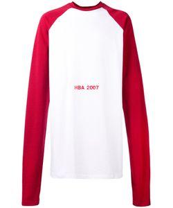 HOOD BY AIR | Oversized Printed Sweatshirt