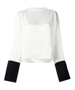 Haider Ackermann | Boat Neck Bicolour Blouse Size 42
