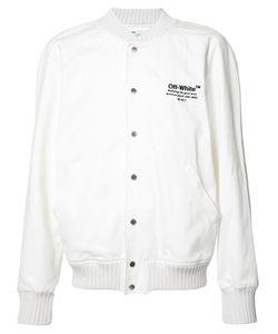 OFF-WHITE | Helvetica Varsity Jacket Xxl