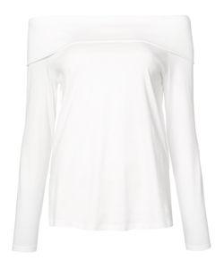Tibi   Off-The-Shoulder T-Shirt 6