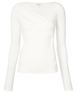 L'Agence | Ruched Top Size Small