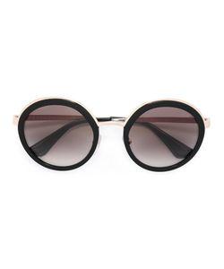 Prada Eyewear   Round Shaped Sunglasses Metal/Acetate
