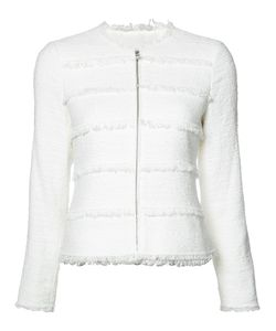 Rebecca Taylor | Frayed Trim Jacket Size 8