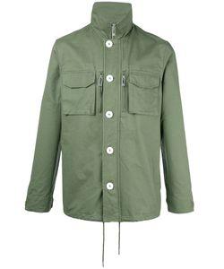 HAN KJOBENHAVN | Han Kj0benhavn Roll Neck Shirt Jacket Large Cotton
