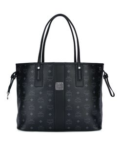 MCM | Logo Print Tote Cotton/Leather