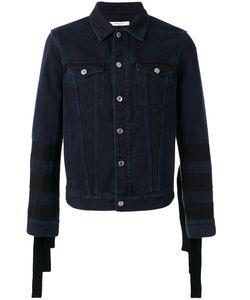 Givenchy | Sleeve-Fringed Denim Jacket Size Medium