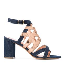 Jean-Michel Cazabat | Strap Denim Sandals