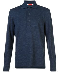 Isaia | Long Sleeve Polo Shirt Men