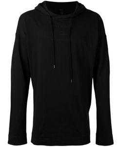 Odeur | Printed Hooded Sweatshirt M