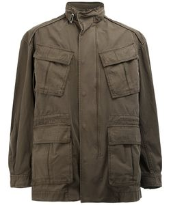 JUUN.J | High Neck Loose-Fit Coat 46 Cotton