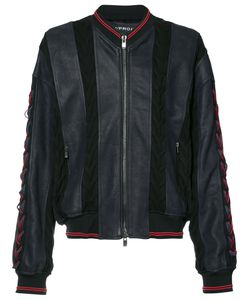 Y / PROJECT | Panelled Bomber Jacket Cotton/Calf
