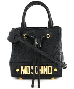 Moschino | Mini Branded Bag Calf Leather