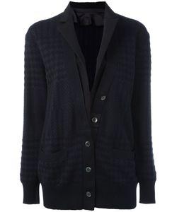 Sacai   Checkered Cardigan Size Iii