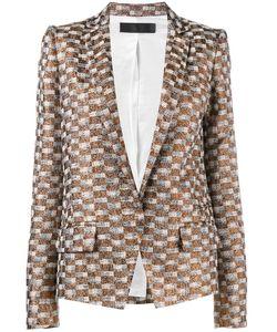 Haider Ackermann | Checked Jacquard Blazer 40 Rayon/Polyester/Cotton/Rayon