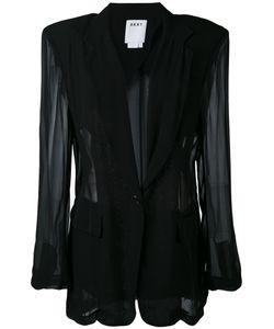 DKNY   Sheer Panelled Blazer Xs