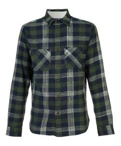 ALEX MILL | Chest Pockets Plaid Shirt Xl Cotton