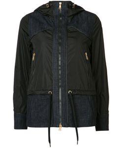 Moncler | Hooded Denim Patch Jacket Size 3