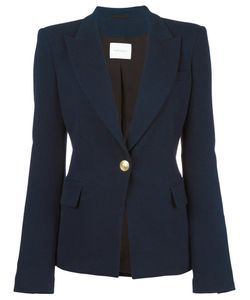 Pierre Balmain | Single Button Blazer 42 Cotton/Polyamide/Spandex/Elastane/Spandex/Elastane