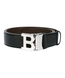 Bally   Logo Plague Belt