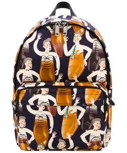 Bally | Рюкзак С Абстрактным Принтом